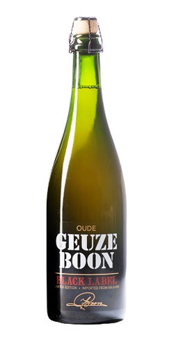 Oude Geuze Boon Black Label Beer