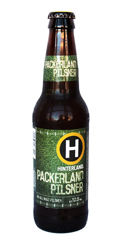 Hinterland Beer Packerland Pilsner