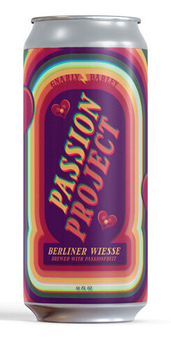 Passion Project Berliner Weisse, Gnarly Barley Brewing