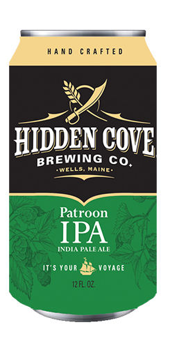 Patroon IPA by Hidden Cove Brewing Co.