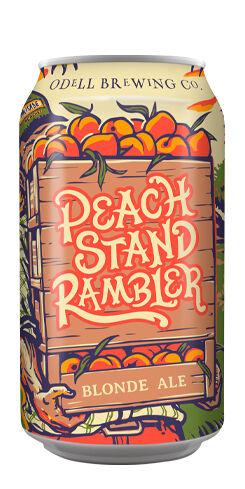 Peach Stand Rambler, Odell Brewing