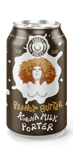 Peanut Butter Korova Milk Porter, Gnarly Barley Brewing