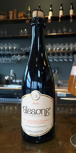 Pêche, Alesong Brewing and Blending