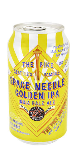 The Pike Brewing Space Needle Golden IPA beer