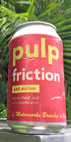 Pulp Friction Grapefruit IPA by Motorworks Brewing