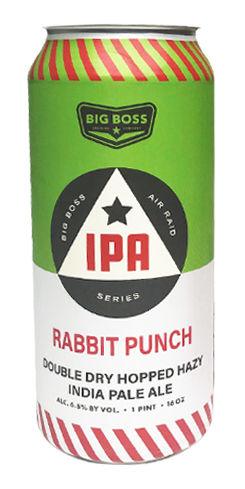 Rabbit Punch IPA, Big Boss Brewing Co.