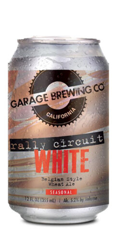 Rally Circuit White, Garage Brewing Co.