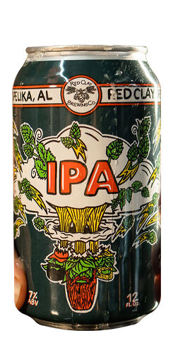 Red Clay IPA, Red Clay Brewing Co.