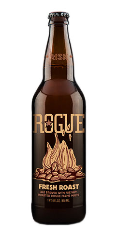 Rogue beer fresh roast