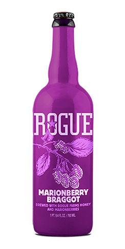 Rogue beer marionberry braggot