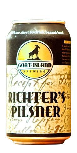 Richter's Pilsner, Goat Island Brewing