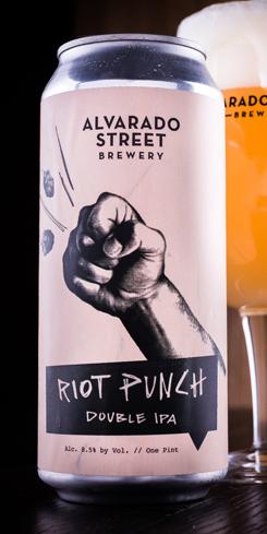 Riot Punch, Alvarado Street Brewery