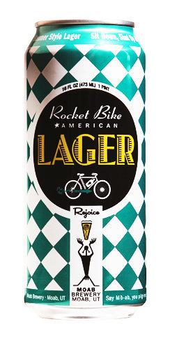 Rocket Bike Lager Beer Moab