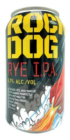 Rocket Dog Rye IPA, Laughing Dog Brewing