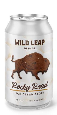 Rocky Road Ice Cream Stout, Wild Leap Brew Co.