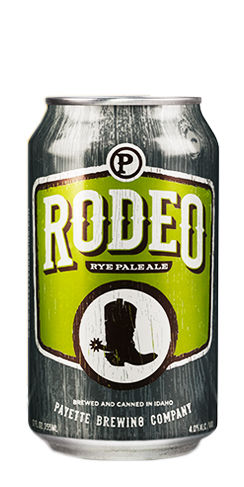 Rodeo Rye Pale Ale Payette beer