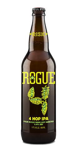 Rogue beer 4 hop ipa