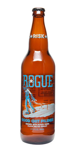 rogue beer good chit pilsner