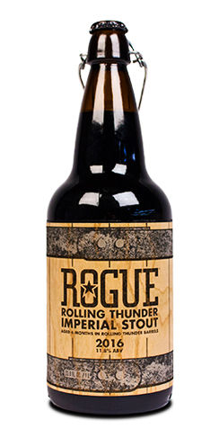 Rogue Ales Spirits Rolling Thunder Imperial stout barrel aged beer
