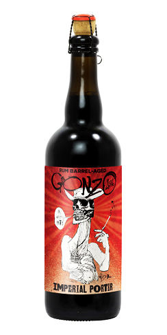 Flying dog beer rum barrel aged gonzo porter