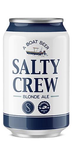 Salty Crew Blonde Ale, Coronado Brewing Co.