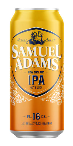 Samuel Adams New England IPA, Boston Beer Co.