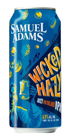 Samuel Adams Wicked Hazy IPA, Boston Beer Co.