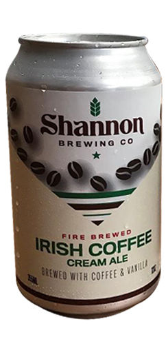 Shannon Irish Coffee Cream Ale, Shannon Brewing Co.