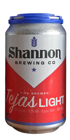 Shannon Tejas Light, Shannon Brewing Co.