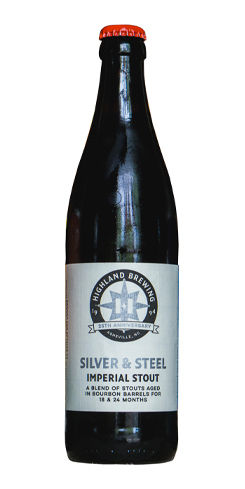 Silver & Steel Bourbon Barrel-Aged Imperial Stout, Highland Brewing Co.