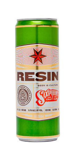 Sixpoint Beer Resin Double IPA