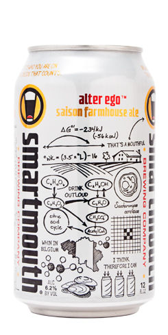Alter Ego Saison Smartmouth Beer
