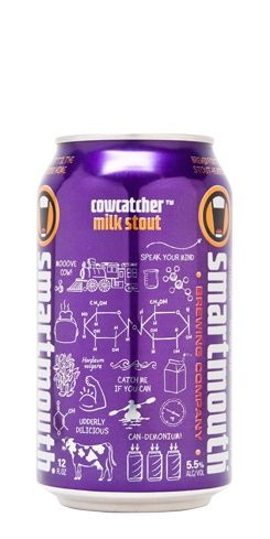 Cowcatcher Smartmouth Beer Stout