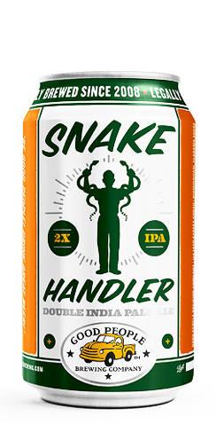 Good People Snake Handler Double IPA Beer