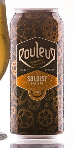 Soloist Golden Ale, Rouleur Brewing Co.