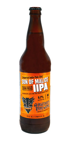 Son of Malice IIPA by Heathen Brewing