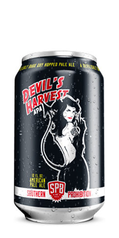 Southern Prohibition beer Devil's Harvest Pale Ale