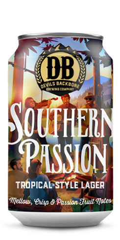 Southern Passion, Devils Backbone Brewing Co.