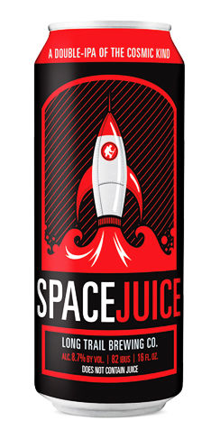 Long trail beer Space Juice Double IPA