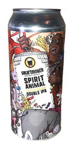 Spirit Animal DIPA, Smartmouth Brewing Co.
