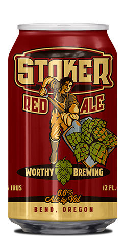 Stoker Red Ale by Worthy Brewing