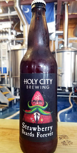 Strawberry Beards Forever by Holy City Brewing