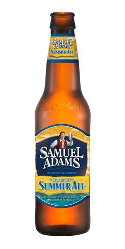 Samuel Adams Summer Ale beer