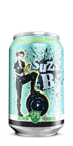 Suzy B Southern Prohibition beer Blonde Ale