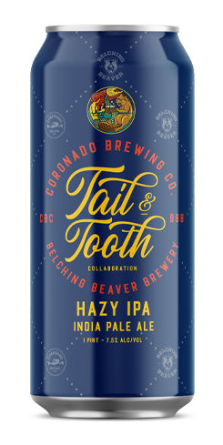 Tail & Tooth Hazy IPA, Coronado Brewing Co.