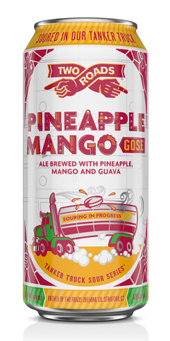 Tanker Truck Sour Series - Pineapple Mango Gose, Two Roads Brewing Co.