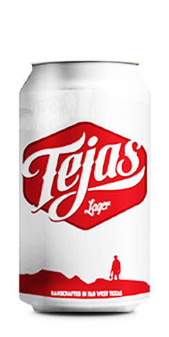 Tejas Lager Big Bend Beer