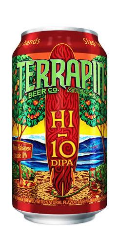 Terrapin Hi-10 Mango habanero Double IPA beer