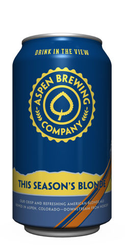 This Seasons Blonde by Aspen Brewing Co.