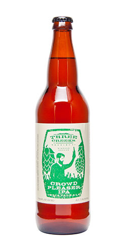 Three Creeks Beer Crowdpleaser IPA